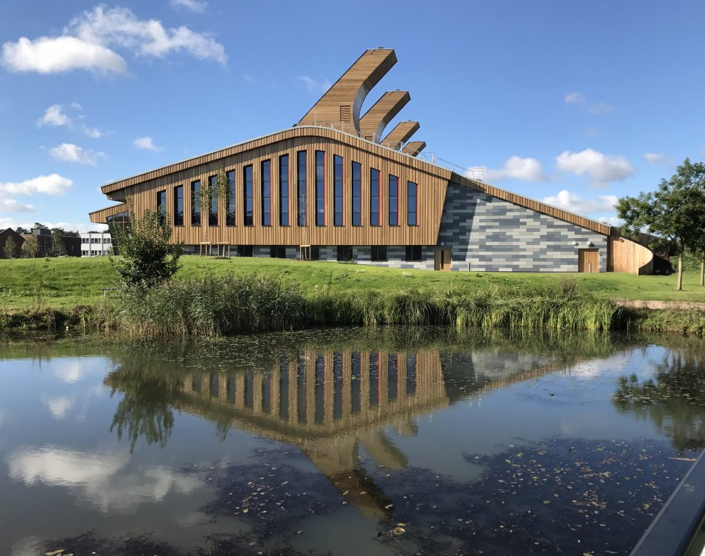 GlaxoSmithKline Carbon Neutral Building in University of Nottingham's Jubilee Campus