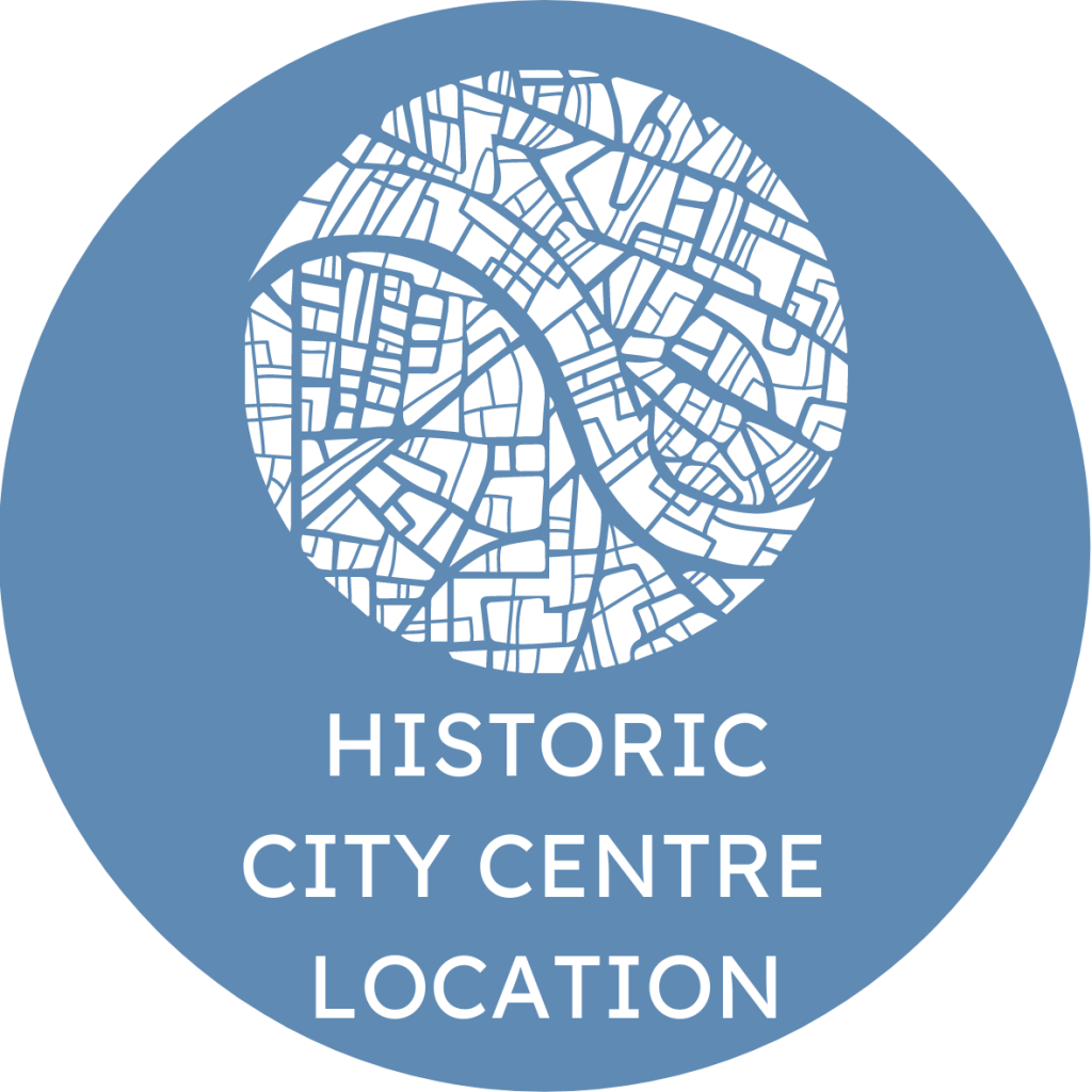 Historic City Centre Location