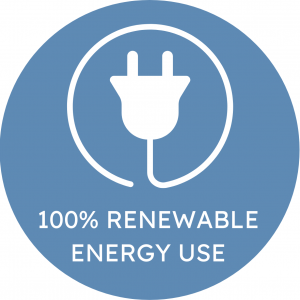 100% Renewable Energy Use