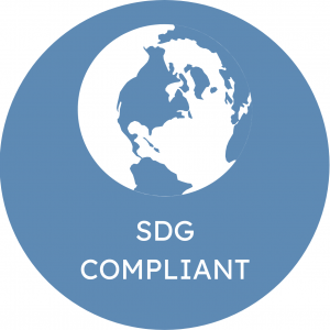 SDG (UN's Sustainable Development Goals) Compliant