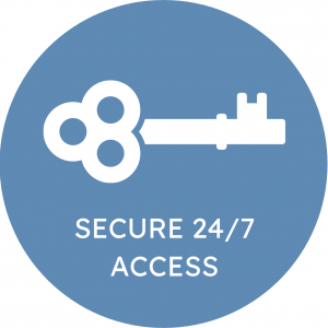 Key: Secure 24/7 Access